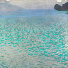 "Gustav Klimt ""Lake Attersee"""