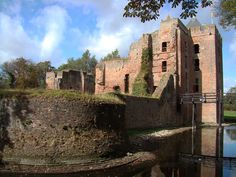 Castle Brederode, also known as Ruins of Brederode, is situated near Santpoort-Zuid