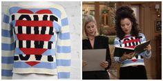 What Fran Wore: Love Moschino Sweater.