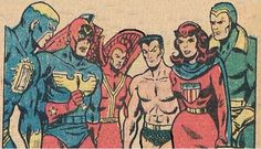 Liberty Legion: Blue Diamond, Patriot, Red Raven, Namor, Miss America, Thin Man