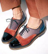 Виды женской обуви. Оксфорды