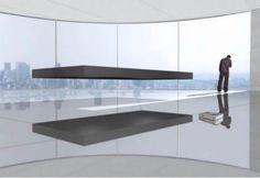 """Magnetic Floating Bed - Price: $1.6 million  A magnetic force propels the bed 16 inches off the ground. Cables keep the bed from maneuvering away from the magnet. 2001: A Space Odyssey reportedly inspired a Dutch architect to create the """"flying bed."""""""