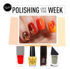 """""""Polishing Off the Week"""" by polyvore-editorial ❤ liked on Polyvore featuring beauty, Givenchy, OPI, Jin Soon, GUiSHEM, nailpolish, polishingofftheweek and newnownails"""
