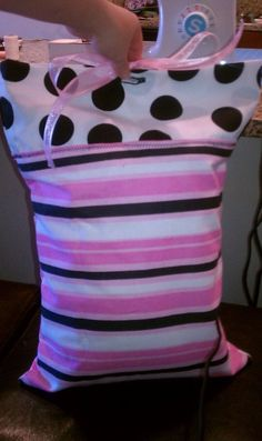 Pillow and Pillowcase to match dress and blanket