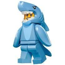 Lego Minifigura Serie 15 ( Shark Suit Guy )