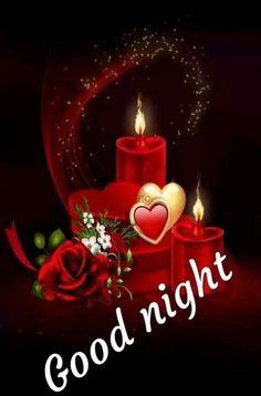 Good Night Greetings, Good Night Wishes, Good Night Prayer Quotes, Love You Gif, Good Night Image, Good Morning, Candles, Christmas Ornaments, Holiday Decor