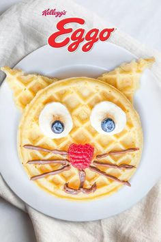 What's the purrrfect way to help add some fun to your kid's morning routine? Fluffy Eggo® Waffles, of course!