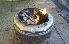 Fabriquer un barbecue pas cher grâce à une vieille machine à laver