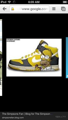 e7cd4e48f I want this shoe for 2 reasons Simpsons is my favorite show I like nike