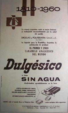 Dulgésico Caramelo Analgésico 1960