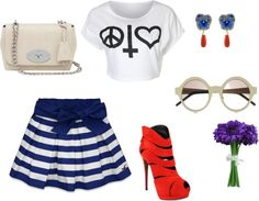 """""""Hippie meets Gypsy"""" by shubhangi90 on Polyvore"""