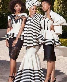 African Fashion – Designer Fashion Tips African Traditional Wear, African Traditional Wedding Dress, Traditional Wedding Attire, African Wedding Dress, Traditional Fashion, Traditional Outfits, Traditional Weddings, Xhosa Attire, African Attire