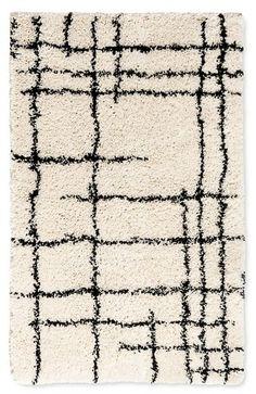 Nate Berkus Accent Rug Linear Shag Cream on ShopStyle Home Uni Room, Polyester Rugs, Nate Berkus, Mediterranean Decor, Home Upgrades, New Living Room, Accent Rugs, Tile Design, Carpet Runner