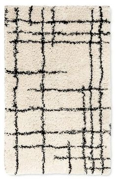 Nate Berkus Accent Rug Linear Shag Cream 2'x3' on ShopStyle Home