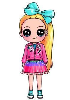 Kawii drawings and shine drawings kawaii draw chibi girl – zupa Kawaii Disney, Cute Disney, Cute Easy Drawings, Love Drawings, Disney Drawings, Cartoon Drawings, Cartoon Illustrations, Kawaii Girl Drawings, Cute Girl Drawing