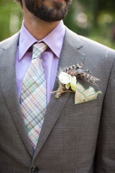 Boutonniere Ideas for the Groom
