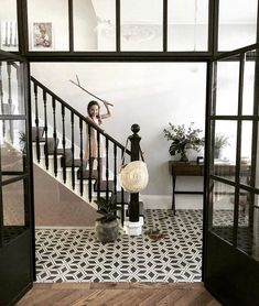 Time to switch off and go wild with my girls! Weekend starts now for me. I've made an executive decision to take Fridays off. Entry Foyer, Entrance Hall, Beautiful Interiors, Beautiful Homes, Fridays Off, Executive Decision, Hallway Flooring, Start Now, Hello To Myself