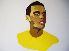 Image result for embroidered portraits