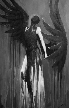 Illustration Files: Alexander McQueen F/W 1998 by Gorak Dark Fantasy Art, Fantasy Kunst, Dark Art Drawings, Art Drawings Sketches, Dark Art Paintings, Arte Horror, Horror Art, Art Sinistre, Bel Art