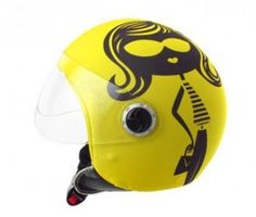 Handy helmet covers, you can spice up your head protector without buying a whole new one!