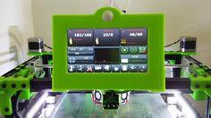 "Nextion 7"" Diamond series HMI on Marlin Kimbra firmware"