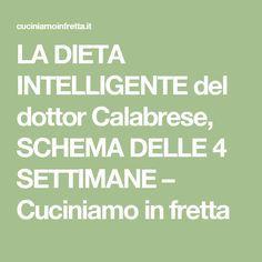 dieta zona italiana schema