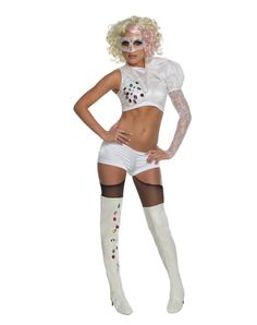 Lady Gaga 2009 VMA Performance Outfit Adult Womens Costume