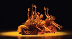 "Alvin Ailey American Dance Theater in Ailey's ""Revelations"" (Photo by Rosalie O'Connor, courtesy AAADT)"
