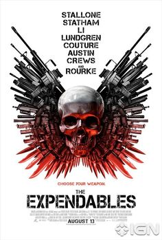 The Expendables movie poster.