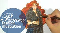 Fashion Illustration - Merida