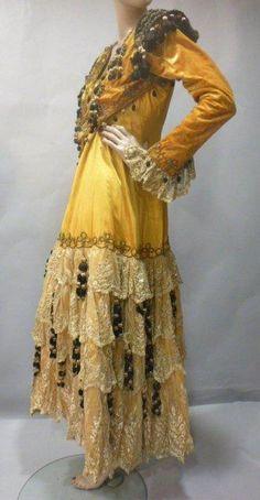 "Andalusian opera costume from ""Carmen"", late nineteenth century."