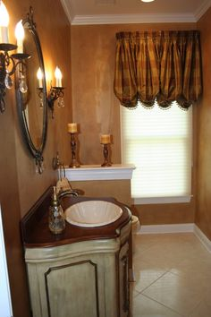old world decor old world powder room bathroom designs decorating ideas hgtv