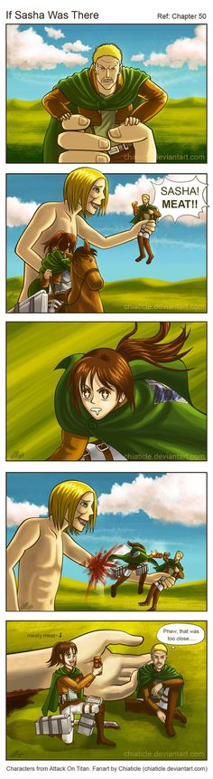 I think most girls would have the same reaction as Petra?? Levi Ackerman and Petra Ral from Attack On Titan / Shingeki no Kyojin
