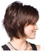 short hairstyles for women over 50 with fine hair Short Hair With Layers, Layered Hair, Short Hair Cuts, Shag Hairstyles, Shaggy Haircuts, Hair Affair, Great Hair, Mi Long, Hair Today