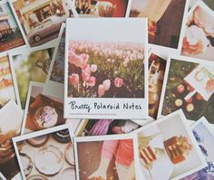 Send stylish snail mail this Valentine's Day with retro Polaroid-style note cards. | Chronicle Books | House & Home