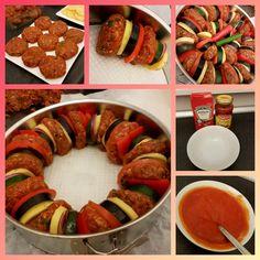 Turkish Recipes, Ethnic Recipes, Diet Recipes, Healthy Recipes, Mini Burgers, Ratatouille, Bacon, Good Food, Lunch
