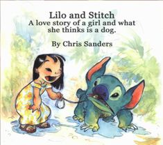 "Chris Sanders' ""Lilo and Stitch"" pitch book"