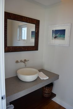 Bathroom Sinks Miami concrete dual crater sink - modern - bathroom sinks - miami