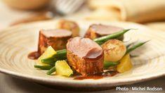 Filet de porc mariné à l'orange