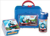 Pecoware Thomas Side Kick Lunch Box Set //  Description All aboard for lunch with Thomas and friends. This Thomas the Tank lunchbox is the perfect accessory for any Thomas fan. Made from durable plastic, the lunchbox comes in traditional Thomas blue with a red handle. Inside, there's an 11.5-ounce canteen with straw and a Pecoware double-deck sandwich container. Everything is adorned with scenes o// read more >>> http://Knowles42.tca9.com/detail3.php?a=B00004S7NC