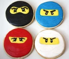 Lego Ninjago Cookies are the Perfect Treat for Little Assassins #desserts