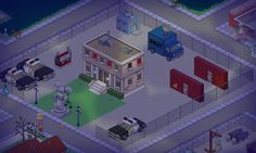 The Simpsons Tapped Out - Police HQ