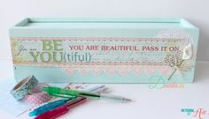 Tutorial Chalky Paint Ganadora del Reto Home Decor de Mi tienda de Arte Todo lo que necesitas para tus manualidades está en mitiendadearte.com