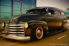 Black hotrod, Chevy Suburban | Flickr - Photo Sharing!