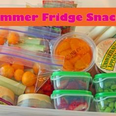 Summer Fridge Snacks