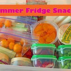 Summer Fridge Snacks