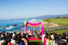 Gorgeous ocean-front ceremony; The Ritz-Carlton Half Moon Bay, The Youngrens Photography, ShaadiShop blog