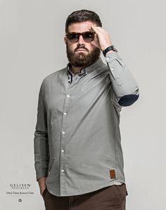 Gelisen moda masculina marca inverno clássico fresco camisa de algodão espessamento e aumento de fertilizantes em Camisas Casuais de Roupas e Acessórios - Masculino no AliExpress.com   Alibaba Group