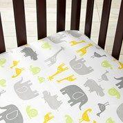 Animal- Crib Sheet