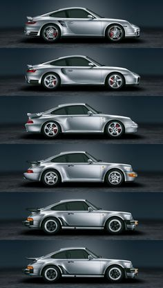 911 Turbo evolution